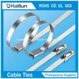 Polierkugel-Verschluss-Edelstahl-Kabelbinder-Verpackungs-Gleichheit