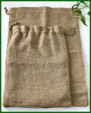 Umweltfreundlicher Drawstring-Nuts Jutefaser-Beutel-Feind-Nahrungsmittelverpackung