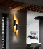 La lámpara de pared de interior de las lámparas de pared del hotel LED adorna las iluminaciones para el proyecto