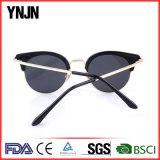 2017 óculos de sol coloridos da parte alta na moda nova para as mulheres (YJ-F12828)