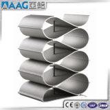 Barra de perfil de aluminio/de aluminio de la protuberancia