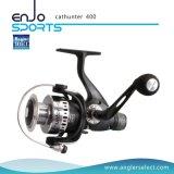 O giro novo seleto do pescador/reparou o carretel do equipamento de pesca do carretel (caçador 400 do gato)