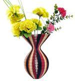 Regalo colorido de la Navidad del florero del papel de la decoración para los niños