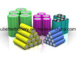 Cellule 2600mAh de batterie au lithium de la qualité 18650 d'OEM 3.7V