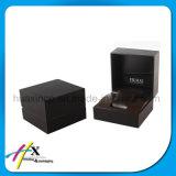 Noir Paino Laque Montre en bois / Bijoux Cadeau Display Packaging Box