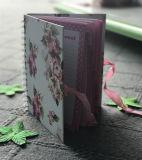 Спиральн тетрадь адреса телефона с книга в твердой обложке для много конструкция