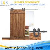 Acero de carbón interior que resbala el hardware de la puerta de granero (LS-SDU-8006)