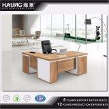 Da mobília de gama alta nova industrial barato modular quente do estilo da venda das tomadas de fábrica mesa de escritório de madeira executiva