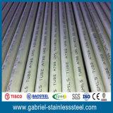 El espejo primero de la calidad pulió el acero inoxidable 304 los tubos inconsútiles de los Ss de 3 pulgadas