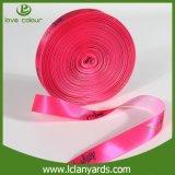 Großhandelsgrosgrain-Farbband mit kundenspezifischem Drucken-Polyester-Gewebe-Entwurf