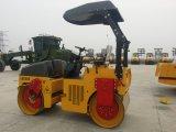 Sinomach Jcc204 4tの二重ドラム振動の道ローラー