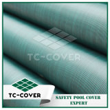 Tissu de maille élevé de force de déchirure de couleur verte