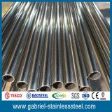 Tubo luminoso dell'acciaio inossidabile di rivestimento 304 di buona qualità i pesi da 6 pollici