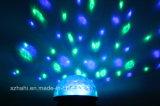 Свет диско света миниый СИД кристаллический СИД шарика сада СИД