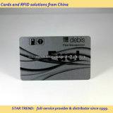 Cartão pagado antecipadamente do combustível feito do PVC com listra magnética (ISO 7811)