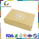 Rectángulo acanalado plegable de encargo con la impresión de color para el empaquetado del producto