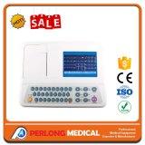 Macchina della Manica ECG EKG (elettrocardiografo) della strumentazione 3 dell'ospedale delle attrezzature mediche