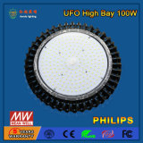 Personalizzare 100W l'alta illuminazione della baia del UFO LED con il coperchio del PC