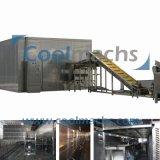 Industrielles einfrierendes Tiefkühlverfahren-Böe-Gefriermaschine-Gerät der Nahrungsmittelmais-Tomate-IQF schnell