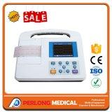 Machine du simple canal ECG ECG (électrocardiographe) de matériel d'hôpital d'équipement médical