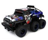 28281505-Velocity juega gigahertz 1-10 RTR campo a través del carro 2.4 del carro 6X6 RC de la velocidad