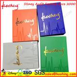 Caixas de papel de envio pelo correio de Pakcaing da impressão de cor do cartão