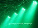 Van het LEIDENE van de Verlichting 54PCS 3W RGBW van het stadium het Licht PARI van het Aluminium/het Licht van de Was/het Licht van het Effect