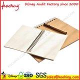 Cuaderno 100% del precio de fábrica/libro de ejercicio impresos insignia de encargo
