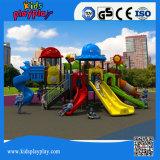 Cour de jeu extérieure de matériel de gymnastique d'enfants de couleurs commerciales de luxe de riches