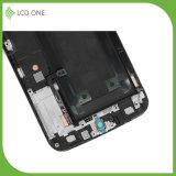 Первоначально агрегат экрана касания LCD для Samsung S6edge с цветом белизны рамки