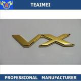 Vx ABSクロム銀および金ボディステッカー車の紋章のバッジ