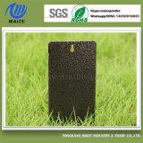 Il nero dell'oggetto d'antiquariato con il rivestimento metallico di rame della polvere dello spruzzo