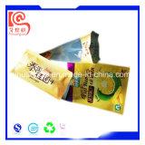 Fastfood- und seitliches Stützblech-Aluminiumplastikverpacken- der Lebensmittelbeutel