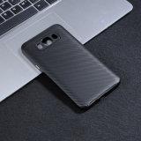 Samsung J7 2017년을%s 탄소 섬유 디자인 충격 흡수 케이스 덮개