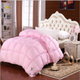 Cama Hotel Consolador Blanco 90% Duck Down Pink Quilt