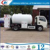 Mini 4X2 5500 camion di consegna Bobtail mobile di litro GPL per il materiale da otturazione del cilindro
