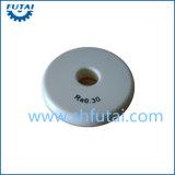 Tubo di ceramica della tessile dell'allumina per la tessile di filatura
