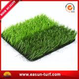 Relvado artificial da falsificação da grama para o futebol e ajardinar