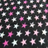 双方のブラシが付いている星の印刷の北極の羊毛