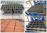Польностью автоматическая бетонная плита вымощая камня цвета кирпича цемента делая машину
