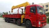 Dongfeng 16 tonnellate 4 degli assi del camion della gru 8*4 di camion idraulico della gru