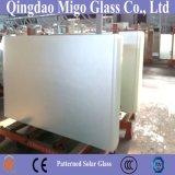 vidrio Tempered modelado hierro 4m m inferior de 3.2m m con la capa de antireflejos