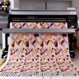 Umdruckpapier-Rolle der Sublimation-80GSM für Polyester-Gewebe