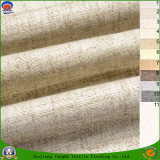 Tela tejida apagón impermeable revestido casero de la cortina del poliester de 2017 francos de la materia textil