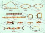 Traitement en bambou de boucle de traitement de laines de traitement de qualité