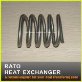 Câmara de ar do cambista de calor do aço AISI304 inoxidável