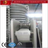 Congelatore a spirale del certificato del Ce singolo con il compressore IQF