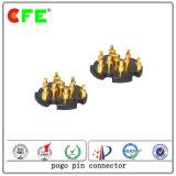 Round SMT Pogo Pin Connector para peças sobressalentes de hardware