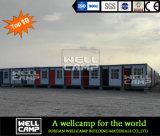 Дом контейнера передвижного контейнера Wellcamp портативная/модульный офис контейнера