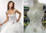 Платья венчания Princess Красивейш Шарика Мантии с отделяемыми втулками и лифом отбортовывать